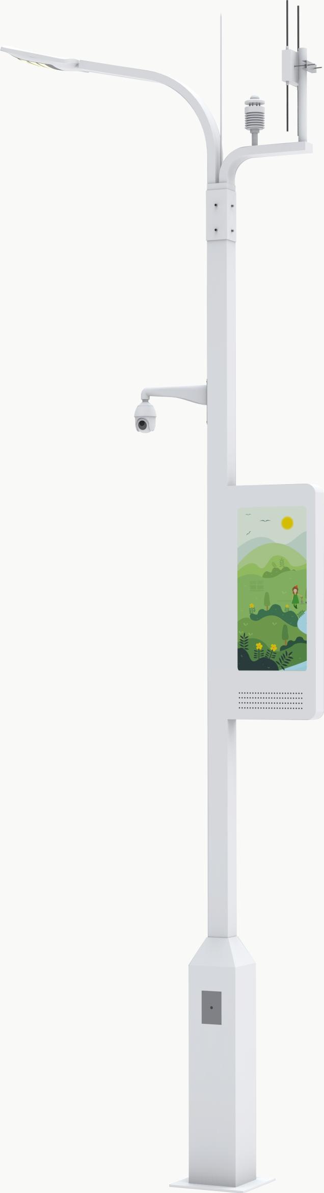 5G智慧燈桿,智慧燈桿,智能路燈桿,智慧路燈