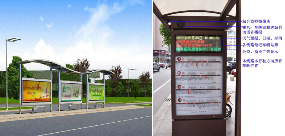 智慧公交,智慧交通,智慧公交站台,智慧城市